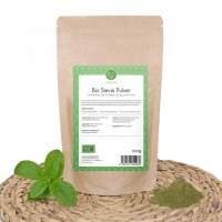 Bio Stevia Pulver, grün (gemahlen), 100g