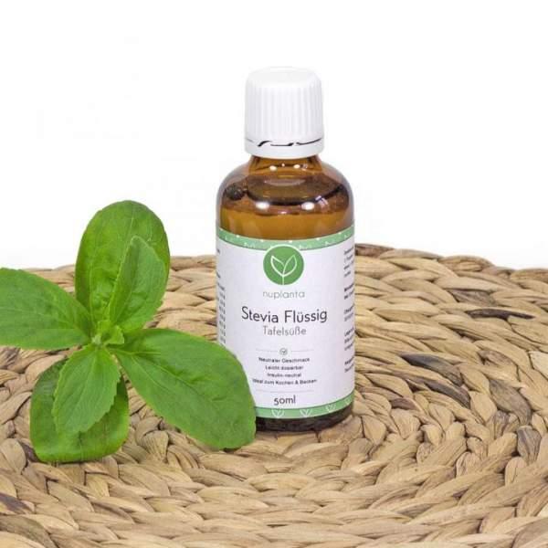 Stevia Flüssig (Fluid), 50ml, Glasflasche
