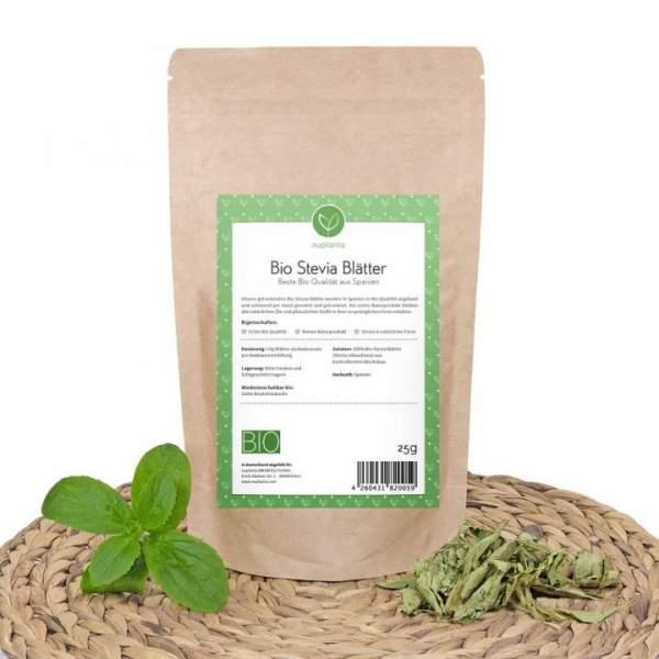 Bio Stevia Blätter (getrocknet), 25g